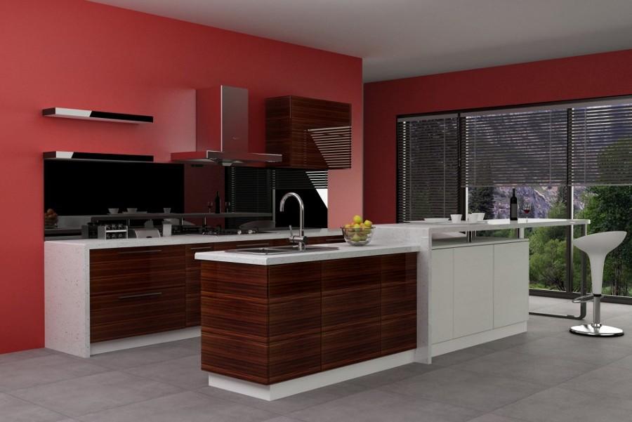 Foto cocinas modernas de reformahogar m xico 14679 for Cocinas integrales en puebla