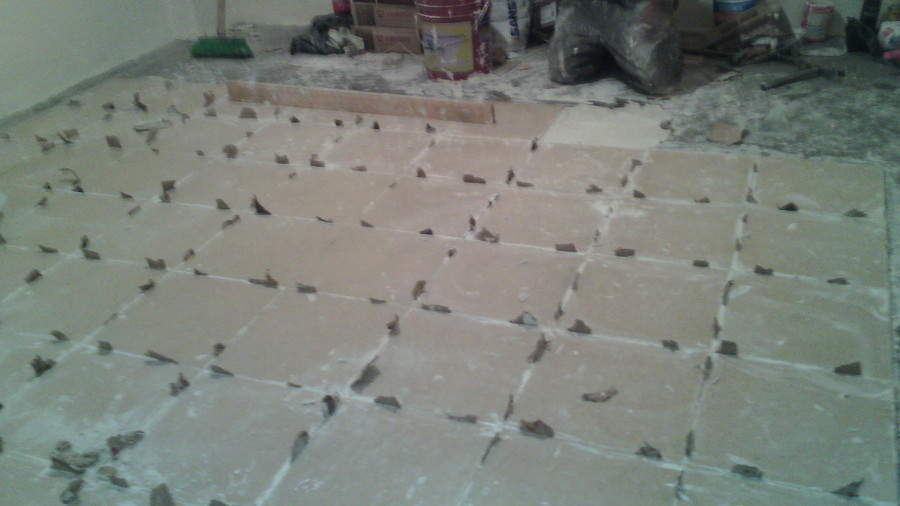 colocacion de piso ceramico
