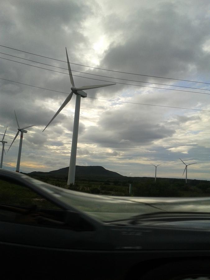 colocacion y nivelado de generador eolico