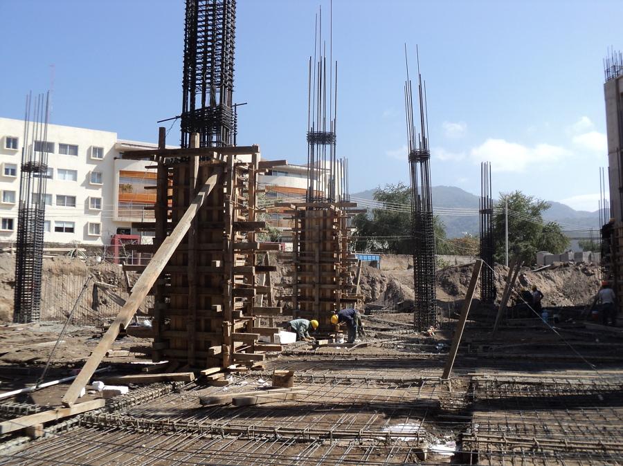 construccion de estructura hotel dreams