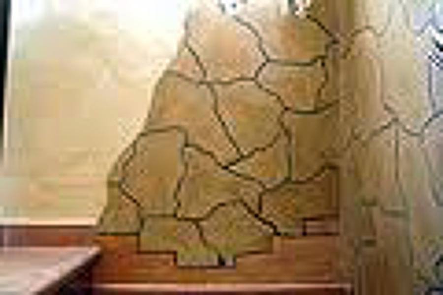 Foto decoraci n imitaci n piedra de construccion y - Decoracion imitacion piedra ...