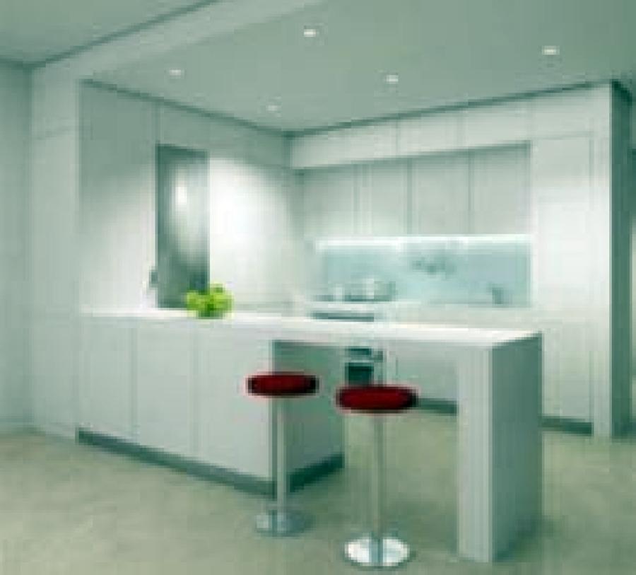 Foto desayunador con tablaroca oaxaca de mantenimientos for Piso cocinas minimalistas