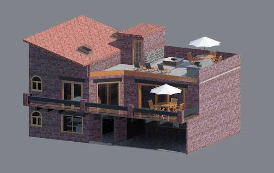Foto dise o casa habitacion de rabco construcciones for Diseno de casa habitacion