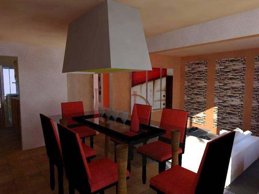 Foto dise o de interiores casa tecamac de ar t dise o y - App diseno de interiores ...