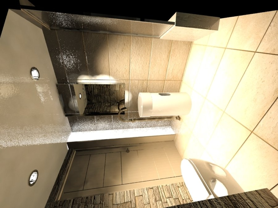 Foto dise o de interiores en ba o y construccion de for Diseno de interiores banos