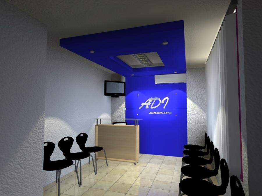Foto dise o de tablaroca consultorio dental de for Decoracion minimalista fotos