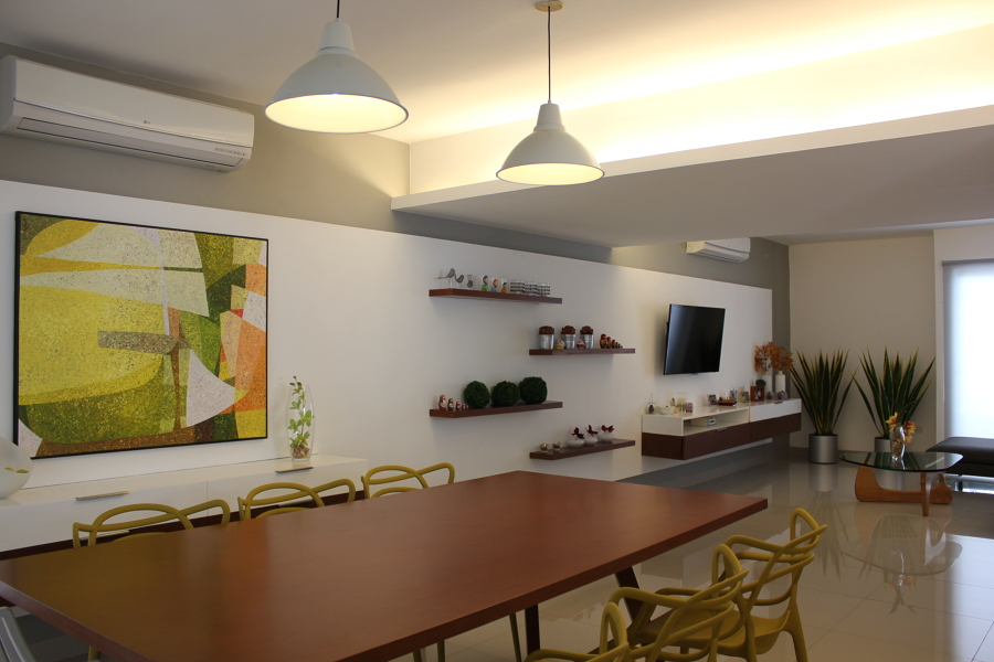 Foto dise o interior sala comedor de proyecto 7 56333 for Modelos de sala comedor modernas