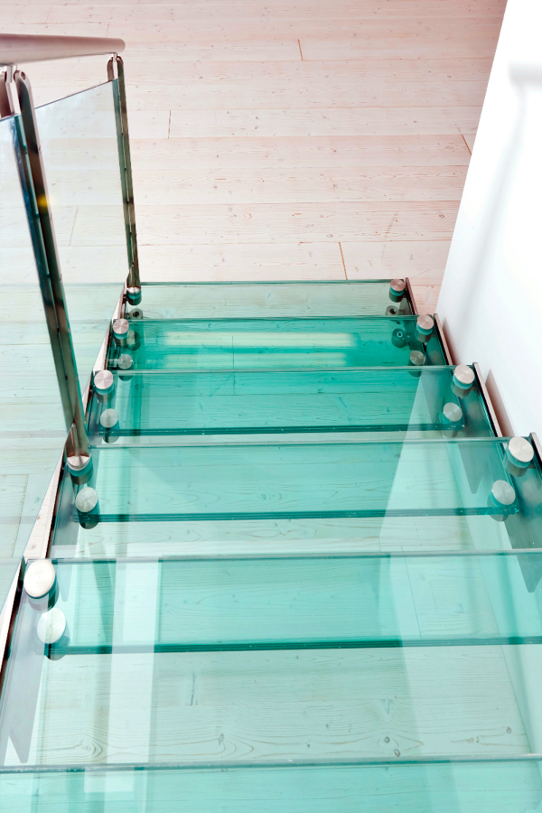 diseo y fabricacin de escaleras de cristal