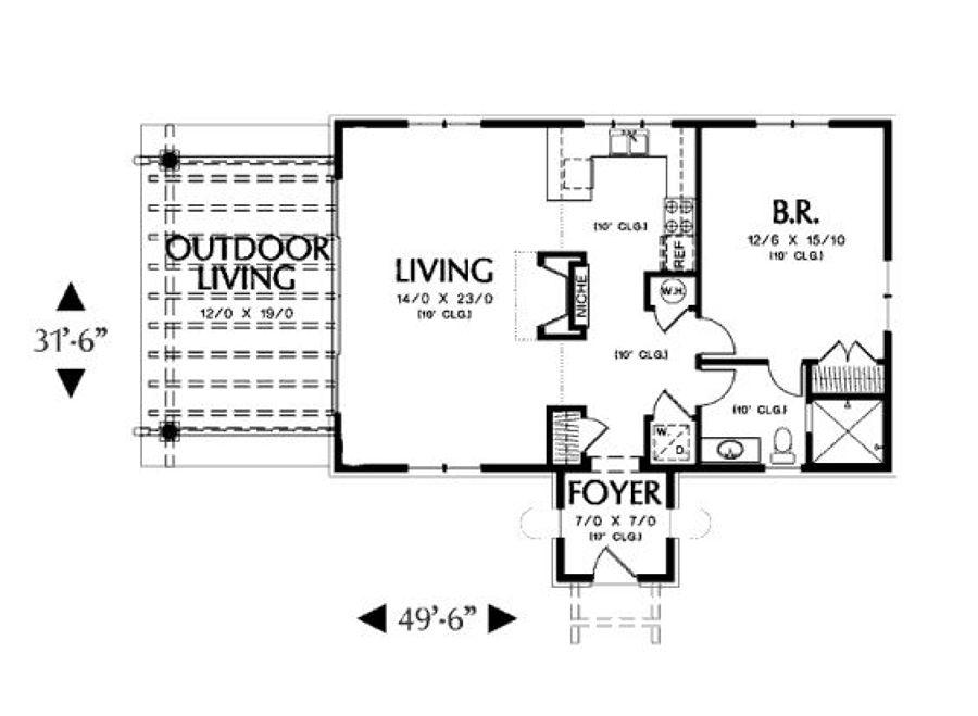 Foto distribucion de casa peque a de ingenieria y - Distribucion casa ...