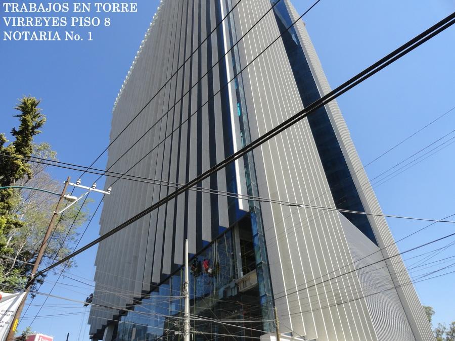 Foto instalaci n de aire acondicionado en torre virreyes for Torre aire acondicionado