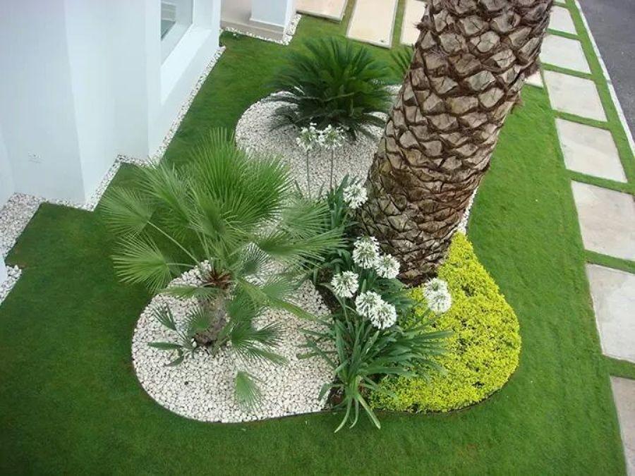 Foto el refugio jardinera de casas atlas de jardiner a - Paisajismo minimalista ...