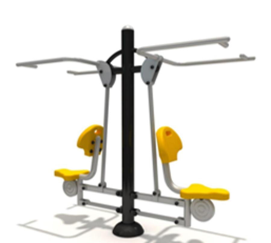 Foto equipos de gimnasio al aire libre de bezaleel - Equipamiento de gimnasios ...