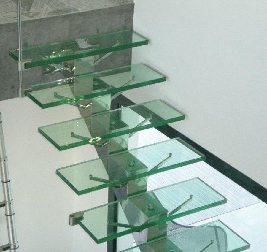 Foto escalones de cristal templado de vitroteck jaty for Cristal templado queretaro