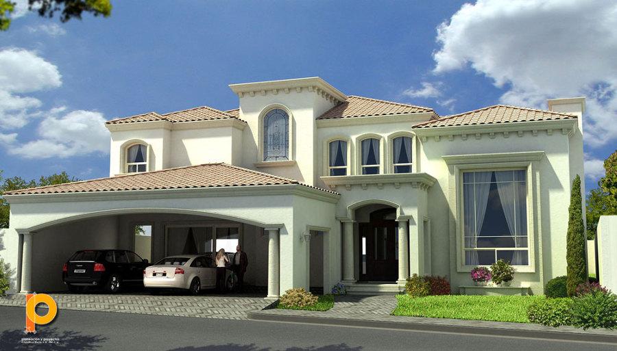 Estilos de fachadas de casas with estilos de fachadas de for Estilos de fachadas de casas