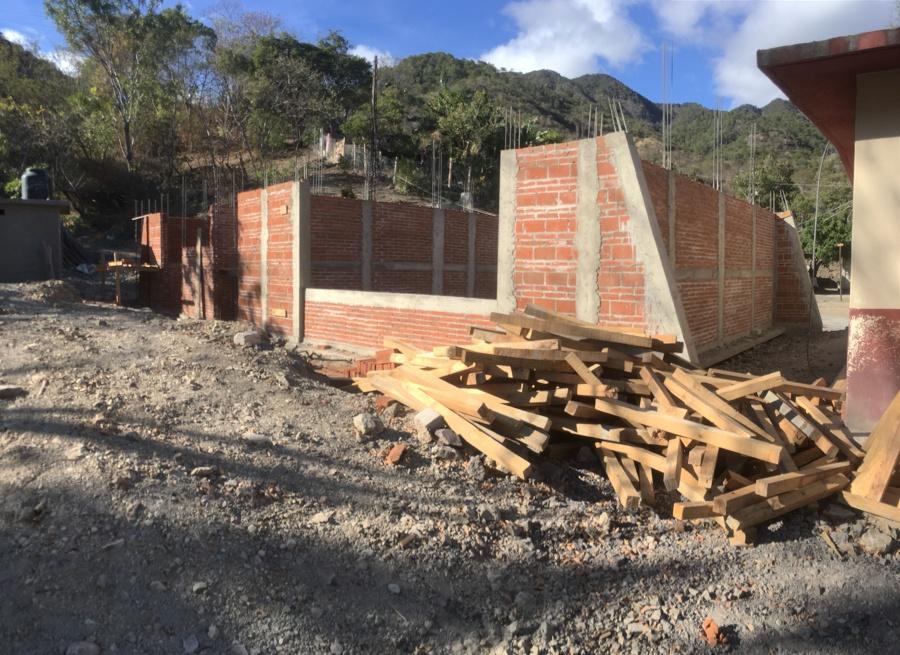 Construcción de aulas