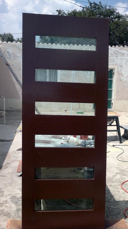 Foto fabricacion de puertas de madera de lopez flores for Fabricacion de bares de madera