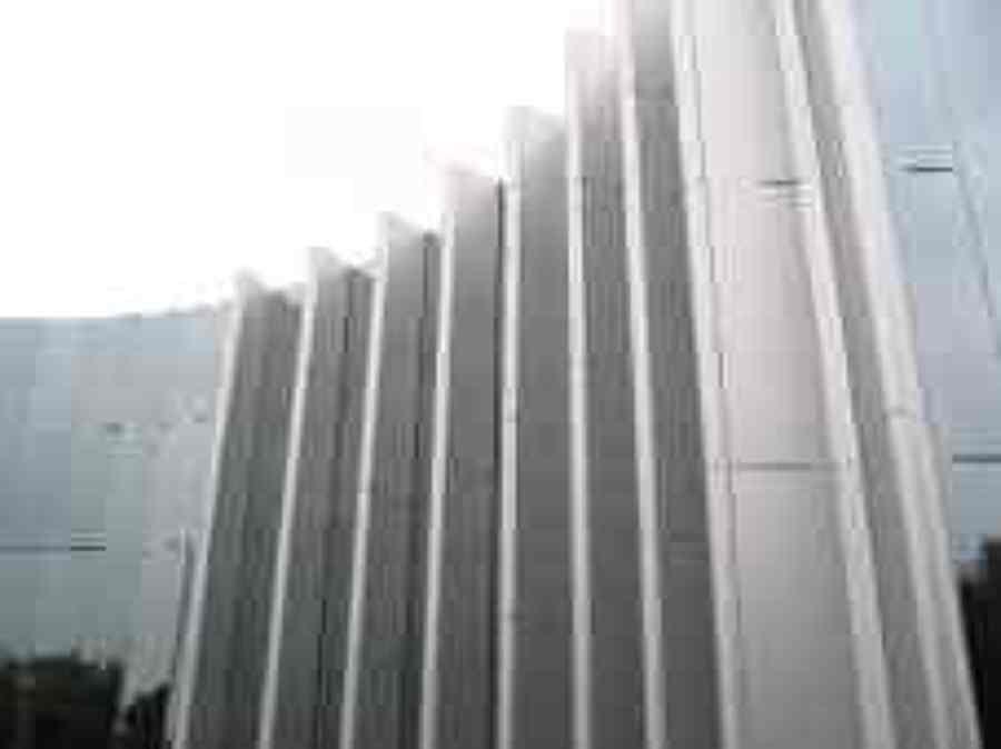 Foto fachada aluminio de cristales y perfiles sa de cv for Fachada aluminio