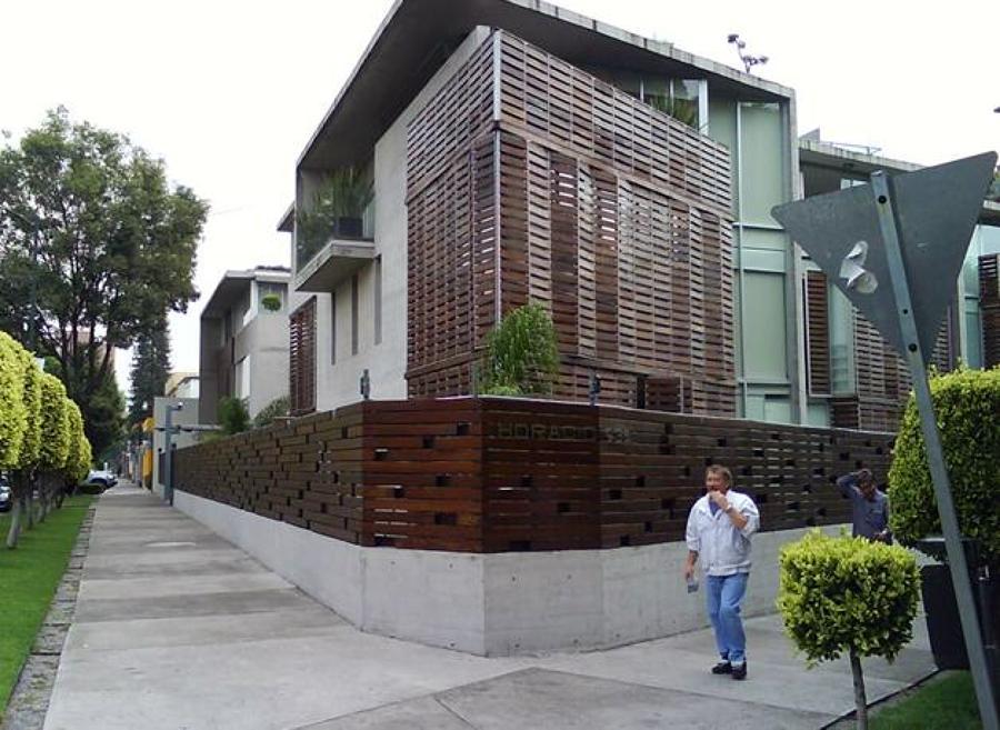 Foto fachadas departamentos de grupo gdb 2084 habitissimo for Departamentos minimalistas planos