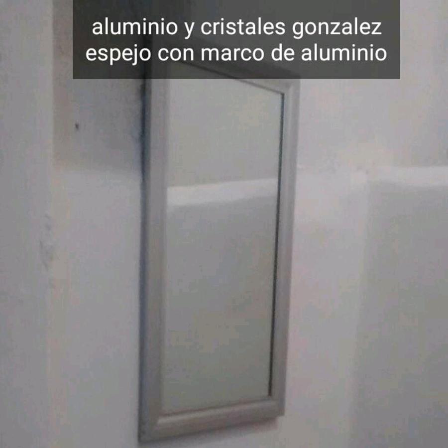 Foto espejo de aluminio y cristales gonz lez 265913 habitissimo - Aluminio espejo ...