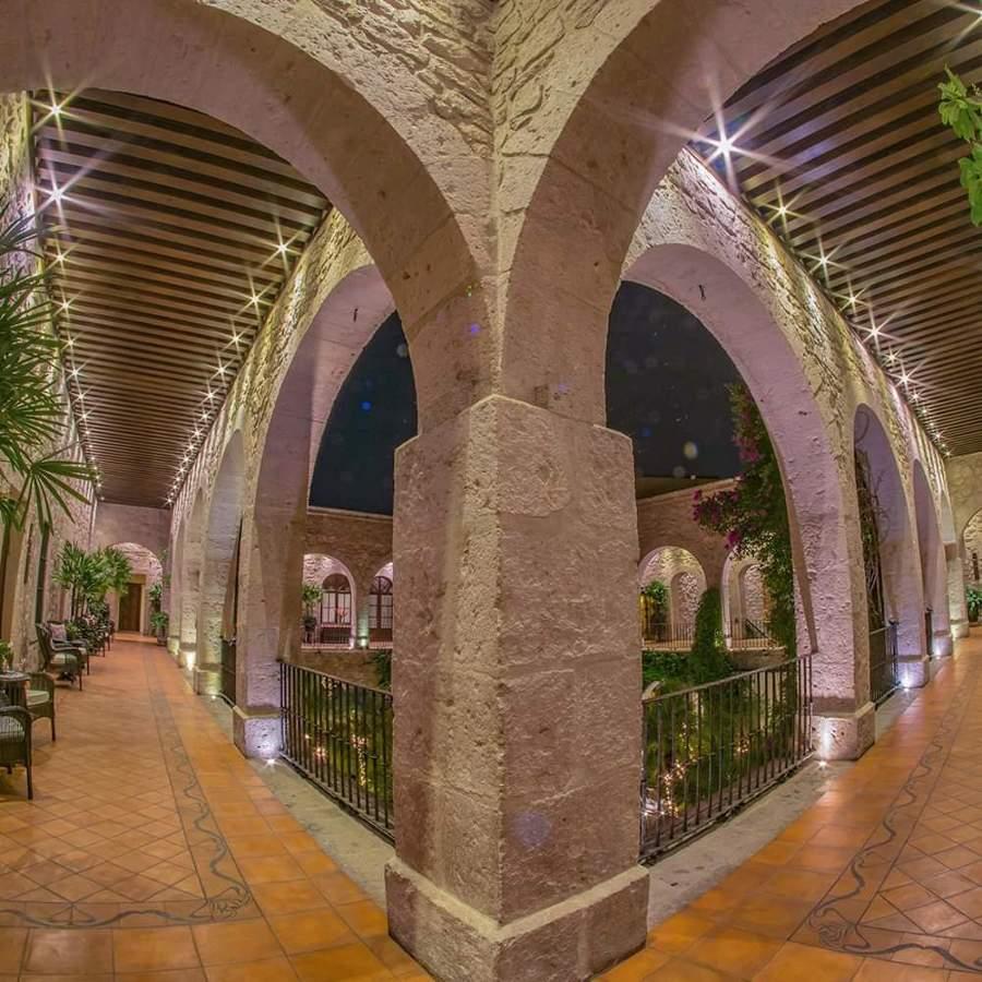 Pasillos planta alta Hotel de la Soledad