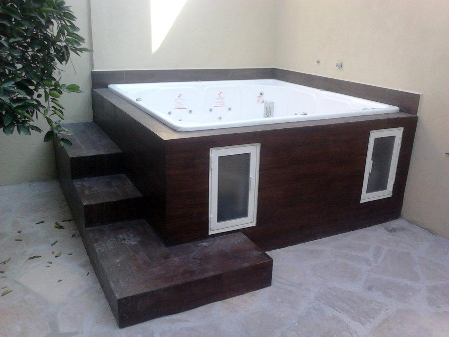 Baño General En Tina:Foto: Forramos Jacuzzys y Tinas de Baño de Mantenimiento General