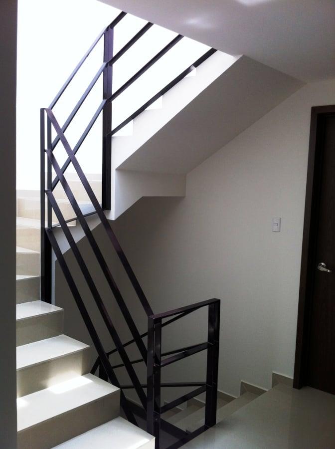 Foto herrer a barandal de r h arquitectura 18465 - Barandales modernos para escaleras ...