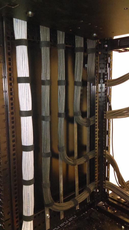 cableado en rack
