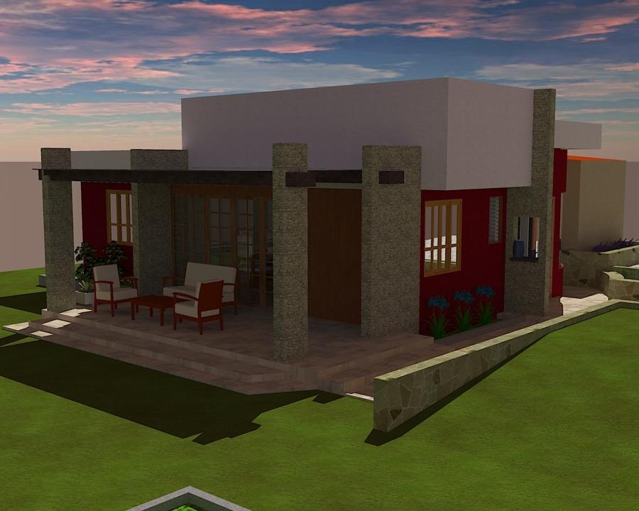 Foto dise o de casa de campo en toluca edo mexico de imc for Casa minimalista toluca