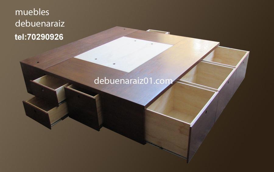 Foto: Base para Cama con Cajones Modelo Beta de Taller De Muebles ...