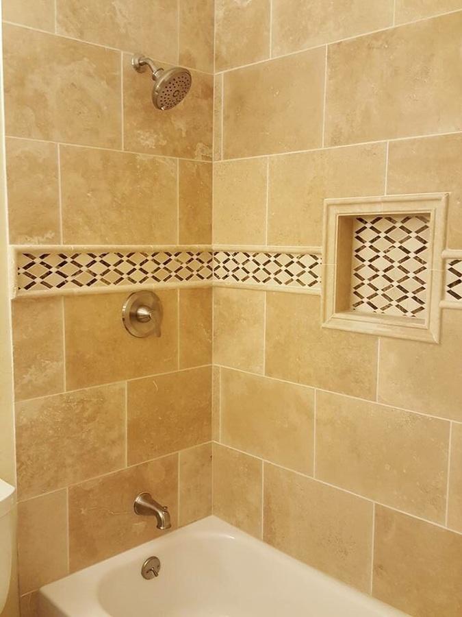 detalle nicho en baño