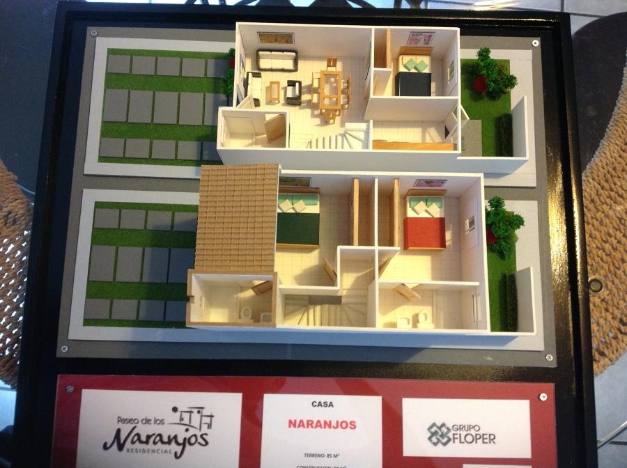 Foto maqueta de casa tipo visitable de deia for Casa minimalista maqueta