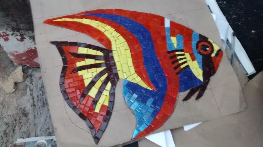 Foto pez payaso azul de decorador de albercas 121391 - Decorador de fotos gratis ...