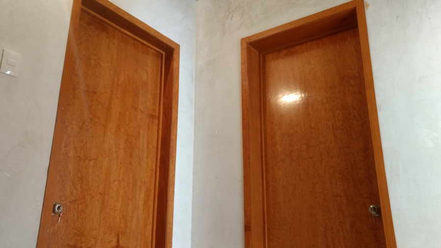 Foto puertas tambor lisas de carpinter a y barniz d m for Puertas de tambor modernas