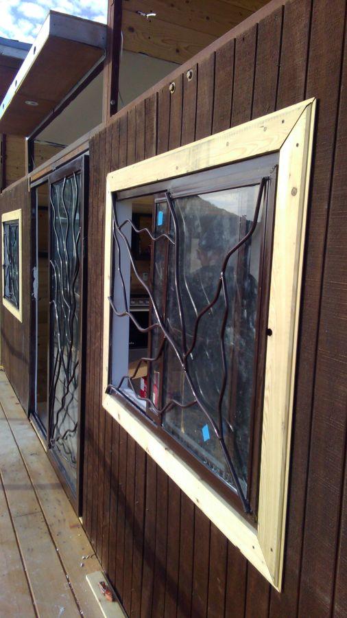 Instalación de ventanas y herrería rusticas