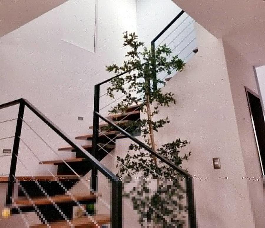 Escalera de Herrería y madera