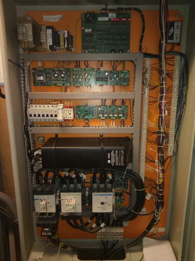 Control de elevador