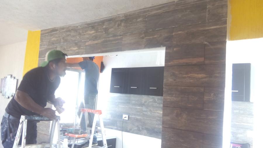 Construcción de cocina