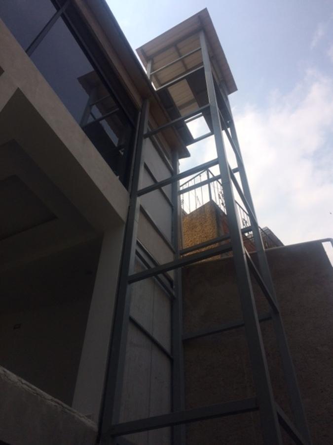 Estructura de Elevador 3 paradas