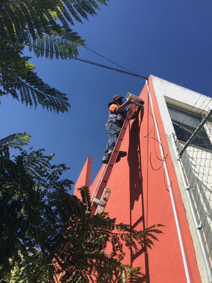 Instalación de Cámaras de Video Vigilancia Fraccionamiento