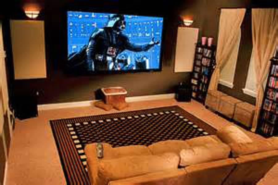 Foto instalacion de cine en casa de instalaciones de - Fotos salas de cine en casa ...