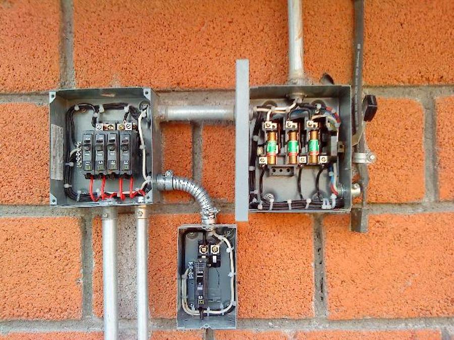 Foto instalacion de electricidad 6 locales comerciales de - Instalacion de electricidad ...
