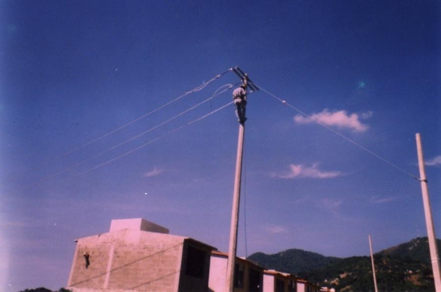 instalacion de red aerea