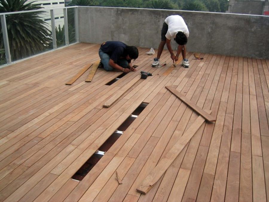 Instalaciones de Deck en azoteas