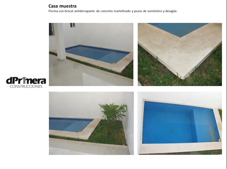 La piscina incluye: