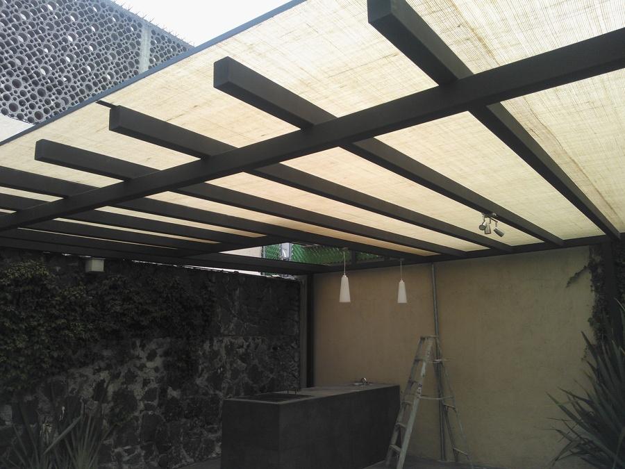 Foto laminas de yute de lumza 78337 habitissimo for Laminas de techos para casas