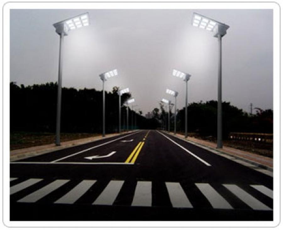 Foto lamparas solares de star solar solutions sa de cv - Lamparas led solares ...