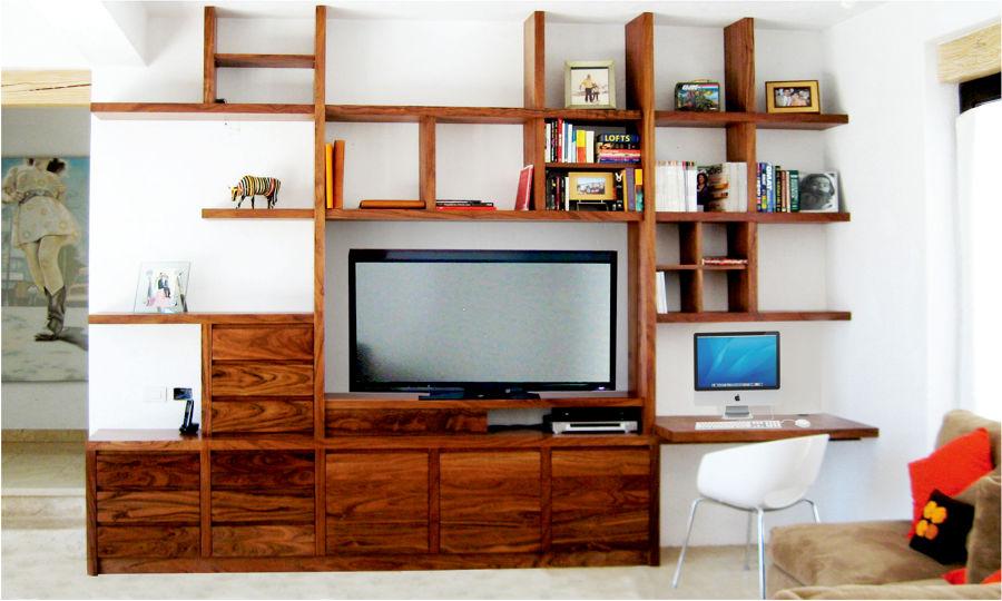 Foto librero de io muebles y dise o 26553 habitissimo - Libreros de madera modernos ...
