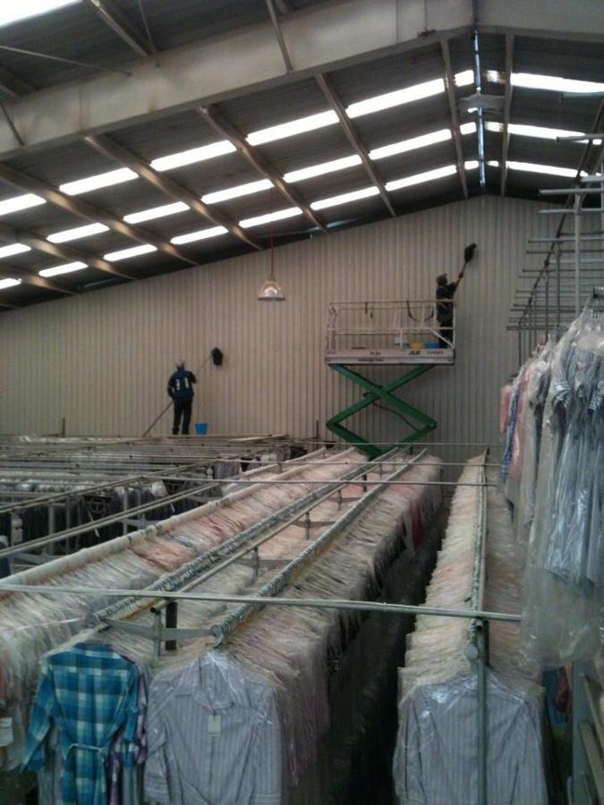 Limpieza fábricas