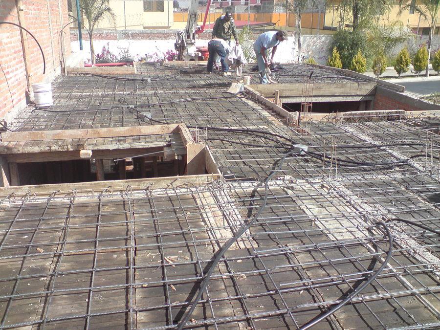 Foto losa sin concreto de proyekta 77280 habitissimo for Techos de concreto para casas