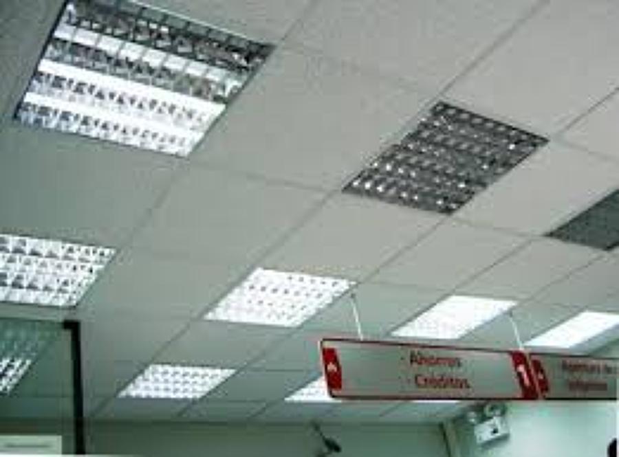 foto luminarias para oficinas de instalaciones el ctricas